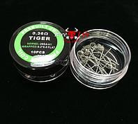 Prebuilt Coil Tiger 0.36 Ом (Койлы) готовые спирали