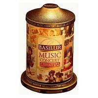 Чай черный Basilur подарочная Музыкальная шкатулка Рождественская с имбирем