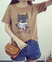 Крутая футболка с рисунком Batman