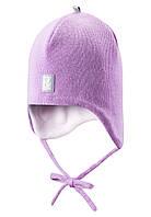 Шапка детская Reima 518316 светло-розовая, Размер 52