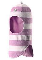Шапка-шлем детская Reima 518315 св.розовая-белая, Размер 54