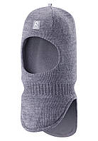 Шапка-шлем детская Reima 518315 серая, Размер 52