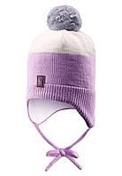 Шапка детская Reima 518368 светло-розовая, Размер 48