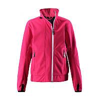 Ветровка для девочек Reima неоново-розовая, Размер 140