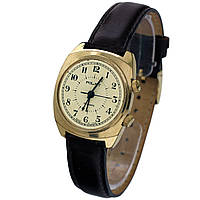 Полет 18 камней позолоченные часы с будильником 40 лет Победы -腕表 poljot de luxe