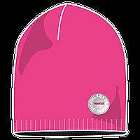Шапка детская Reima 528483 розовая, Размер 52