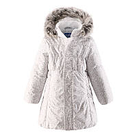 Пальто для девочки LASSIE 721698 светло-бежевое, Размер 92