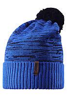 Шапка детская Reima 538020 синяя, Размер 54