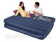 Кровать надувная Intex Comfort Bed 66710 со встроенным насосом 220В
