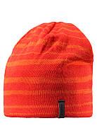 Шапка детская Reima 538023 оранжевая, Размер 58