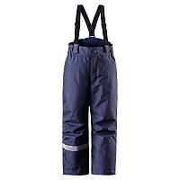 Штаны на подтяжках детские LASSIE 722696 тёмно-синие, Размер 104