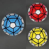 Мяч футбольный 772-443 (60) 380-400 грамм, 32 панели, 3 цвета
