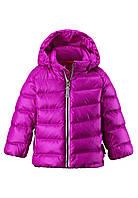 Куртка-пуховик детская Reima 511212 розовая, Размер 92