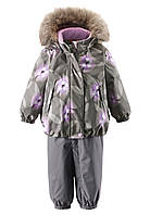 Комплект (куртка + брюки на подтяжках)детский Reima 513102R серый, Размер 92