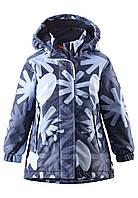 Куртка для девочек Reima 521462 тёмно-синяя, Размер 110