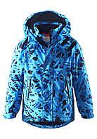 Куртка детская Reima 521465C тёмно-синяя, Размер 140