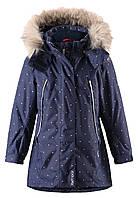 Куртка для девочек Reima 521466 тёмно-синяя, Размер 104