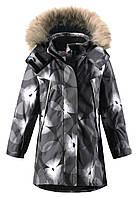 Куртка для девочек Reima 521466 чёрная, Размер 128