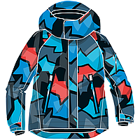 Куртка детская Reima 521473B сине-серая, Размер 104