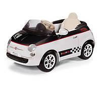 Электромобиль Peg Perego FIAT 500 12V White/Black