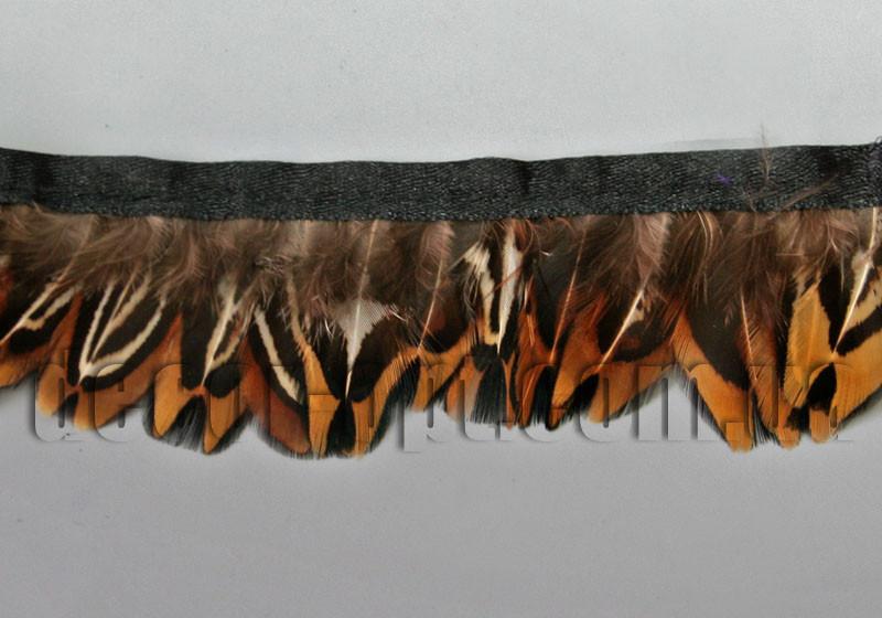 Перо-юбка из натуральных перьев  4см/45-47см 02