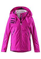 Комплект (ветровка, кардиган флис) для девочки Reima 531220 розовый, Размер 146