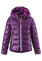 Куртка-жилет пуховая для девочек Reima 531224 бордовая, Размер 134