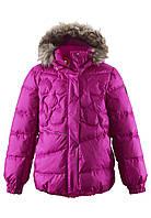 Куртка-пуховик для девочек Reima 531230 розовая, Размер 140