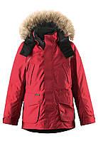 Куртка-пуховик детская Reima 531235 красная, Размер 104