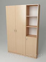 Шафа для одягу До-132 (900*320*1860h)