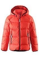 Куртка-пуховик детская Reima 531236 оранжевая, Размер 122