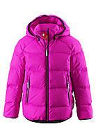 Куртка-пуховик детская Reima 531236 розовая, Размер 146