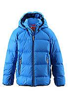 Куртка-пуховик детская Reima 531236 синяя, Размер 128