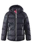 Куртка-пуховик детская Reima 531236 чёрная, Размер 140