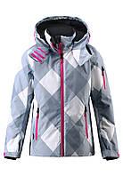 Куртка для девочек Reima 531248 тёмно-голубая, Размер 140