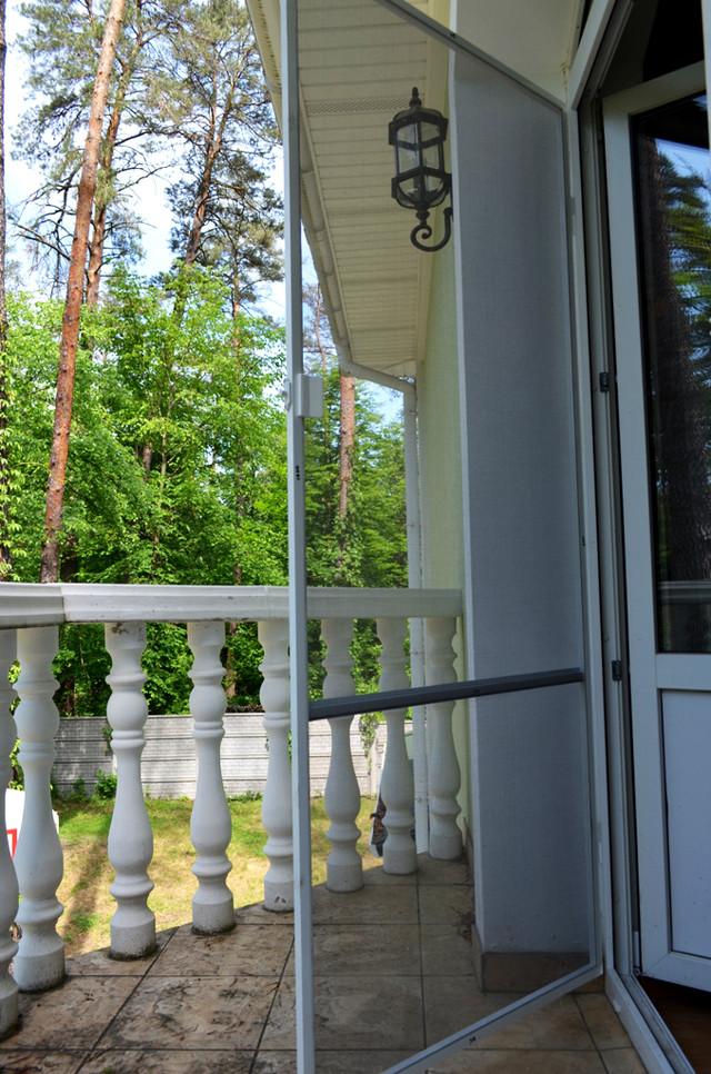 москитная сетка на балконную дверь, фото Тепловик