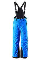 Штаны на подтяжках детские Reima 532081 синие, Размер 140