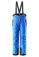 Штаны на подтяжках детские Reima 532084 синие, Размер 104