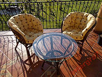 Мебель из ротанга  BAHAMA коричневый мед.
