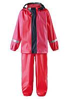 Комплект детский для дождливой погоды Reima Tihku красный 513103-3720, Размер одежды 104 (4 года)