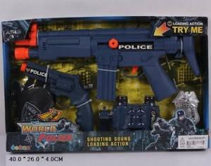Полицейский набор с пистолетом, фото 2