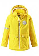 Куртка демисезонная Reima Taag желтая 521481-2350, Размер одежды 104 (4 года)
