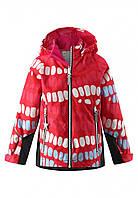 Куртка демисезонная Reima Kiddo Segel красная 521482-3721, Размер одежды 104 (4 года)