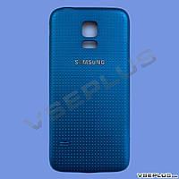 Задняя крышка Samsung G800H Galaxy S5 Mini, синий, high copy