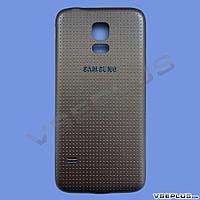 Задняя крышка Samsung G800H Galaxy S5 Mini, золотой, high copy