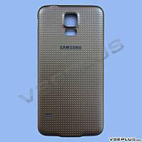 Задняя крышка Samsung G900F Galaxy S5 / G900H Galaxy S5, золотой, high copy