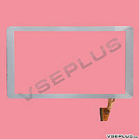 Тачскрин (сенсор) под китайский планшет Nomi A10101 / Reellex TAB-10E-02, DH-1012A2-PG-FPC062-V5.0, белый