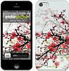 """Чехол на iPhone 5c Цветущий куст """"831c-23"""""""