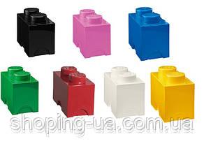 Двухточечный белый контейнер для хранения Lego PlastTeam 40021735, фото 3