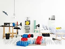 Двухточечный белый контейнер для хранения Lego PlastTeam 40021735, фото 2